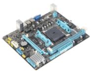 昂达A68V+主板的bios设置u盘启动进入PE的视频教程