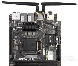 微星Z87I主板的bios设置u盘启动进入PE的视频教程